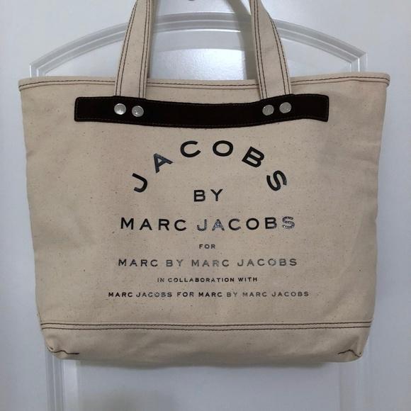 6e211cc551 Marc by Marc Jacobs Zipped Canvas Tote. M 5abefc358290af1329e6d631